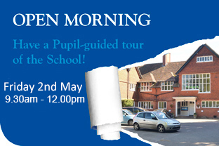 Open Morning 2nd May 2014